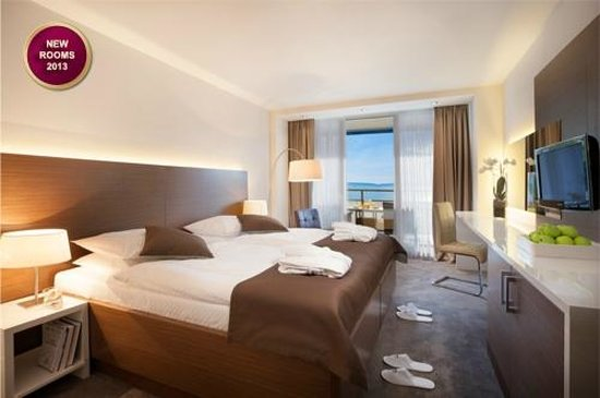 Remisens Premium Hotel Ambasador: Double room sea view