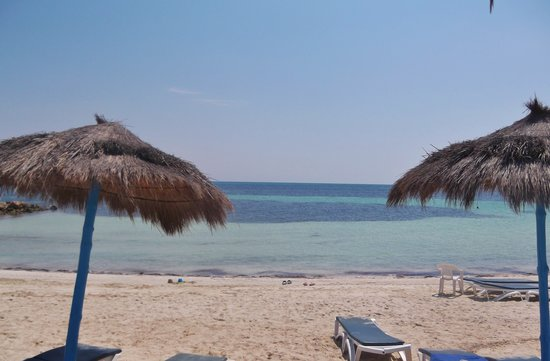 El Mouradi Djerba Menzel: sea is beautiful and warm