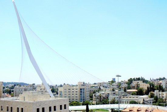 Jerusalem Gold Hotel: Vue de la chambre