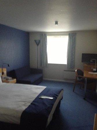 Holiday Inn Express Newcastle Metro Centre: room interior
