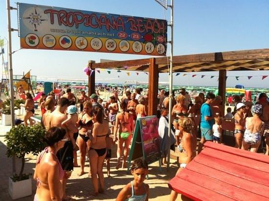 بيلاريجيا مارينا, إيطاليا: tropicana beach bagno 22
