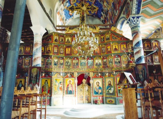 Archangelos, Greece: Monastery of the Archangel