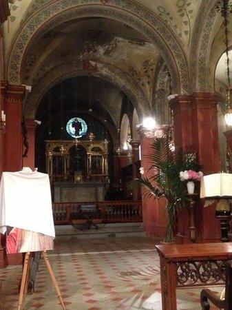 Opera at St. Mark's Anglican Church: inside