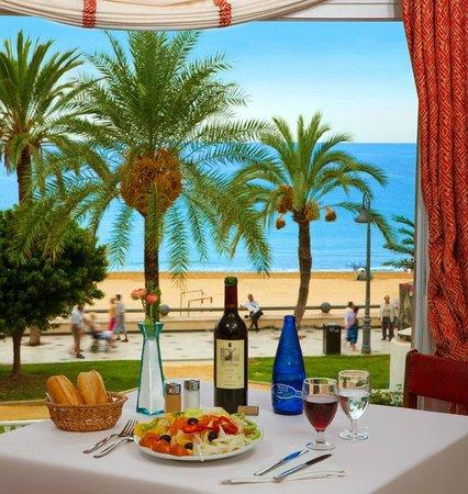 Port Mar Blau : Vista desde el restaurante