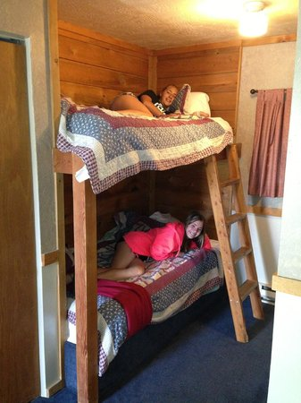 Pony Express Motel: Fun beds for kids
