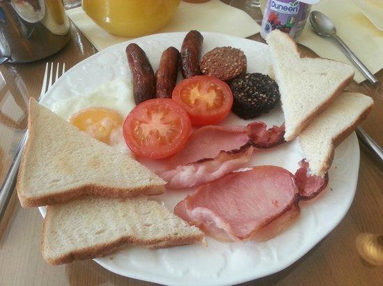 Flyover Bed and Breakfast: Irish breakfast