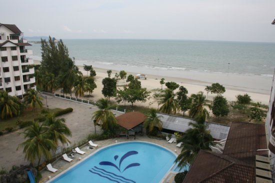Bayu Beach Resort Port Dickson: View from our apartment