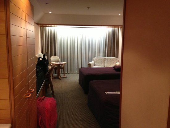 Commodore Airport Hotel, Christchurch: Room on ground floor