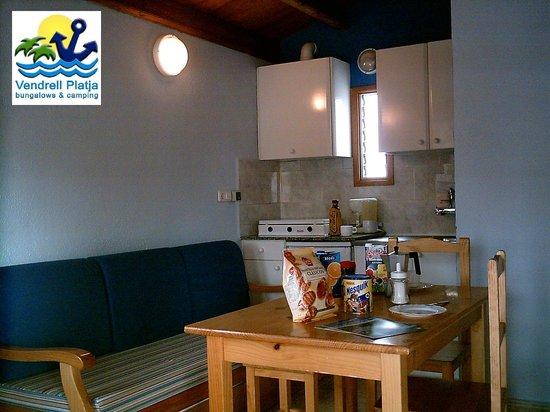 Vendrell Platja: Interior de nuestros bungalows