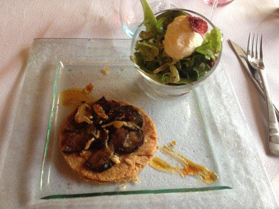 La Table de Catherine : Croustillant d'andouille au camembert