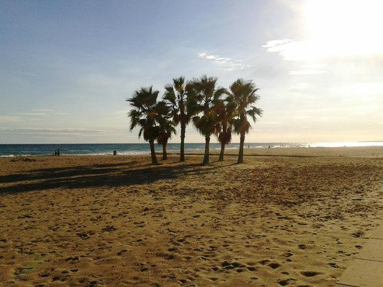Vendrell Platja: Atardecer en la playa de Coma-ruga