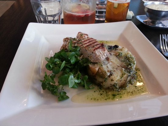 Fishermans Wharf: Grilled Tuna