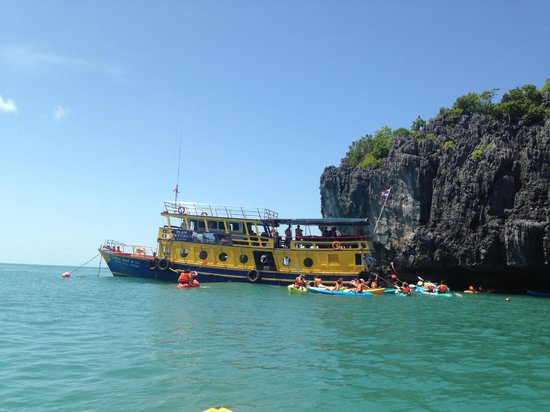 Blue Stars Kayaking: First stop