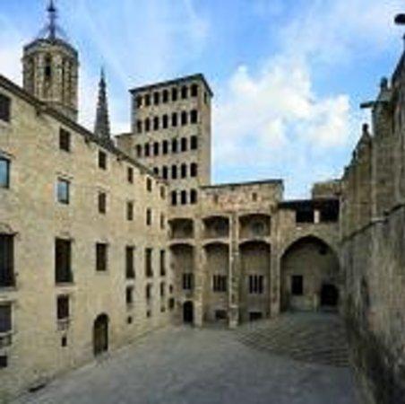 Historisches Museum der Stadt Barcelona (Museu d'Historia de la Ciutat): Plaça del Rei i Torre Rei Marti