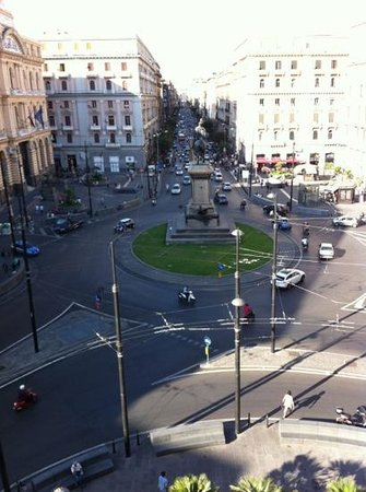 Bovio Suite Hotel : View from reception down the P. Bovio