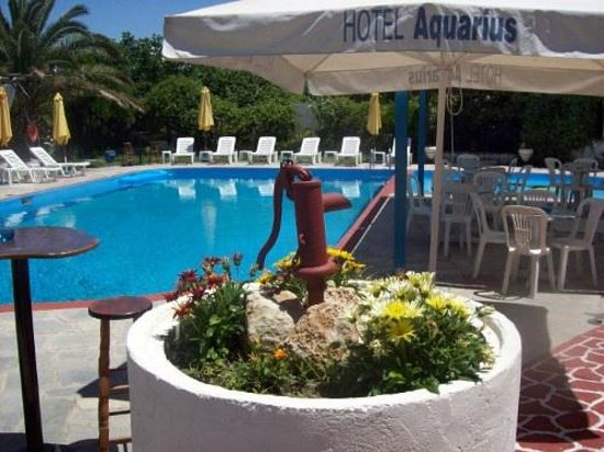 Aquarius Hotel : Pool area