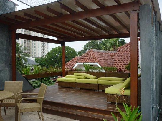 Shraya Residence: rooftop