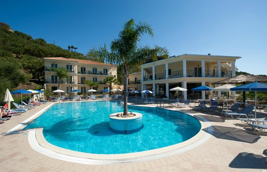 Zante Star: Pool Area