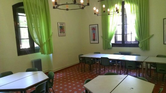 Albergue Juvenil San Rafael: aula