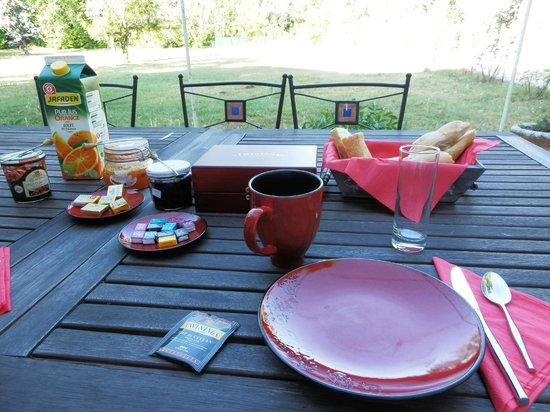 Moulin de La Quenin : colazione