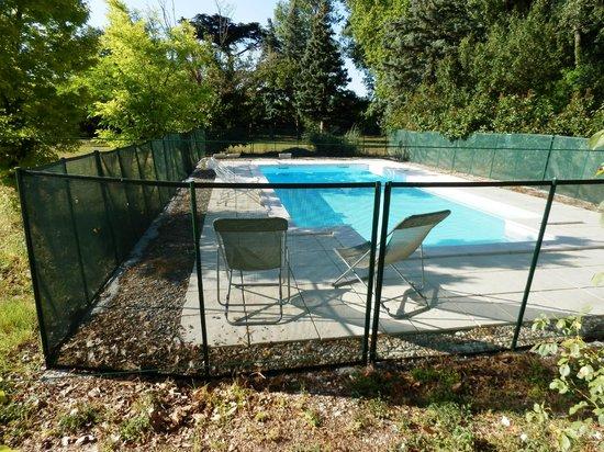 Moulin de La Quenin : piscina
