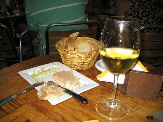 Le Volpi e L'Uva : Foie gras e Vouvray Loira del 96