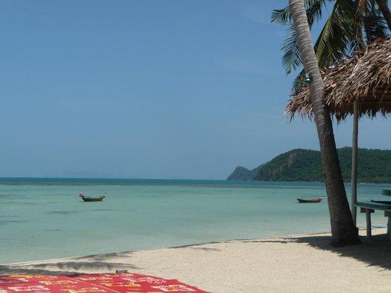 Lime n Soda Beach Front Resort: Beach view