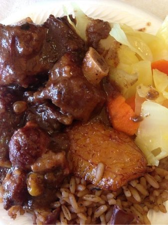 African and Jamaican kitchen: Come and try this.