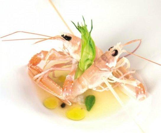 Dioniso Fish Restaurant: I  CRUDI DI GIORNATA