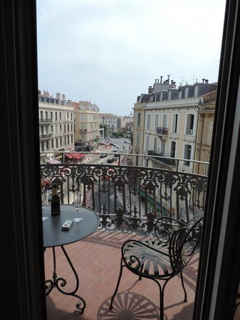 Hotel  Le Cavendish: View from Rotunda Bedroom