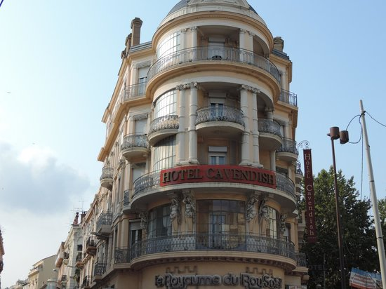 Hotel  Le Cavendish: Hotel Front with Rotunda terrace rooms