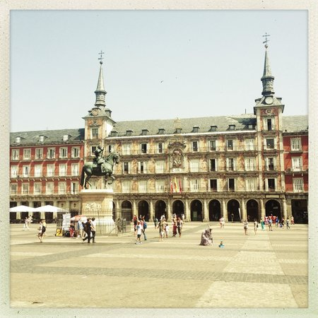 BajaBikes Madrid: Plaza Mayor