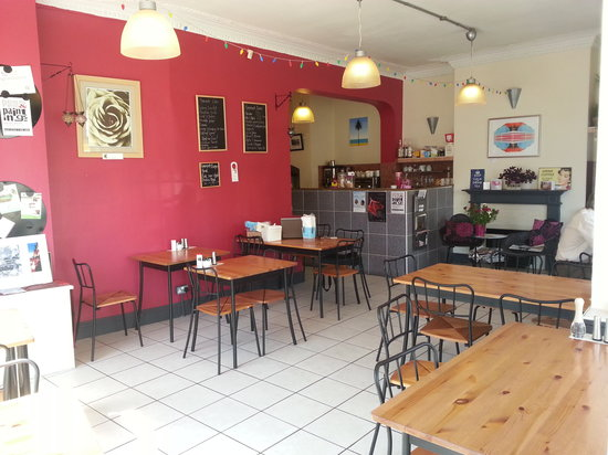 Cornerstone Cafe: Relax with family and friends in our child friendly newly refurbished cafe complete