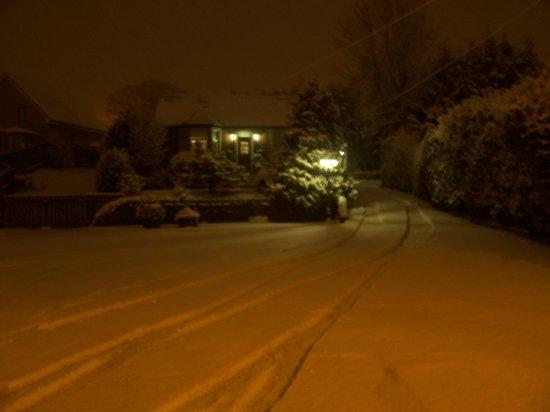 Sunnyside B&B : A warm glow in the snow
