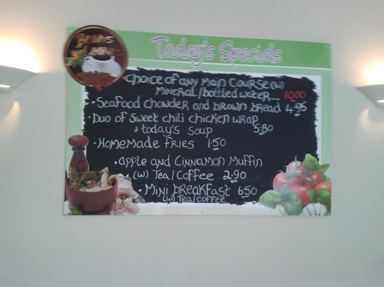 Beans & Leaves : Menu Board