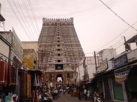 Sri Ranganathaswamy Temple: Srirangam Temple- Murali visit