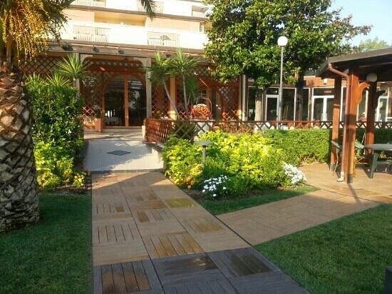 Hotel Acquario: la terrazza.