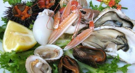 Dioniso Fish Restaurant : un'assaggio di crudi di mare
