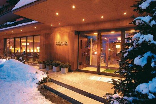 Theresia Gartenhotel: Hoteleingang