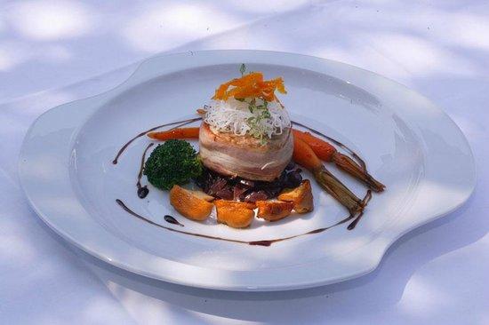 Restaurant Belvedere: Example main course