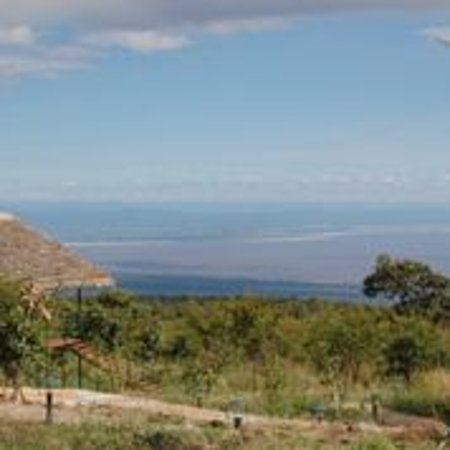 Ngorongoro Wildcamp: View from the camp of Lake Eyasi