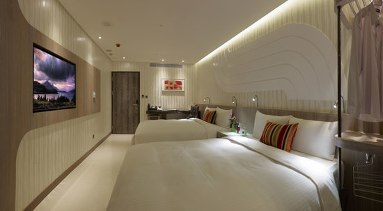 Beauty Hotels Taipei - Hotel Bnight: 極緻四人房