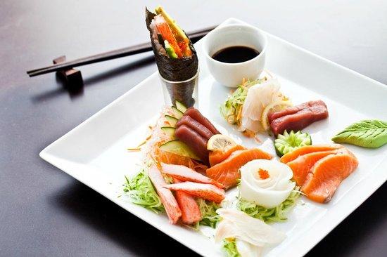 Glasse : Sashimi Combo Platter