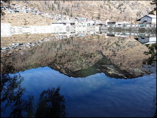 Barsu, India: Reflection on Lake
