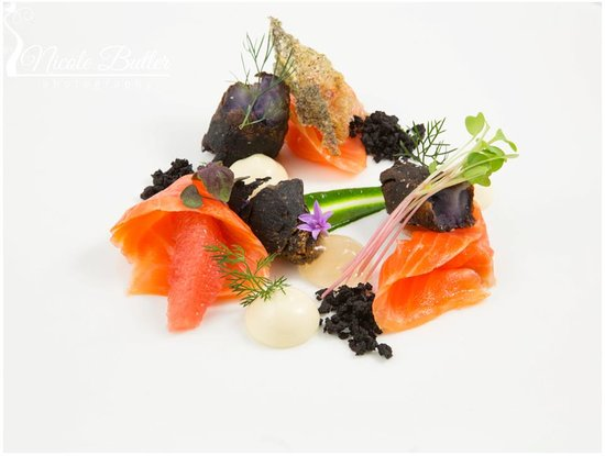 Muse Restaurant: Cured Ocean Trout