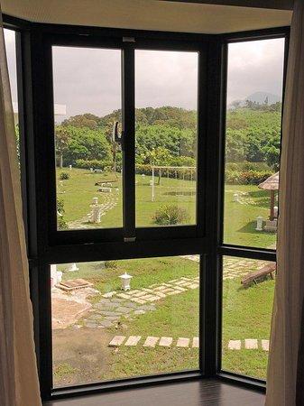 Siang Ge Motel : 窗外景觀