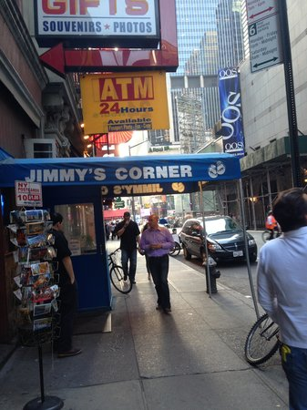 Jimmy's Corner: outside