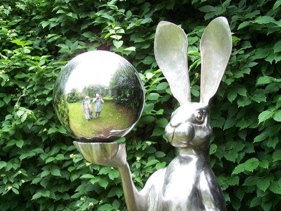 Burghley Park: The contemporary sculpture garden.