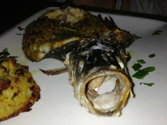Restaurant La Forca: Zeebaars als hoofdgerecht