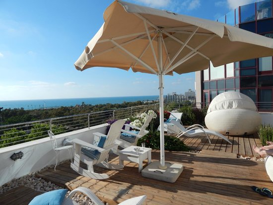 Shalom Hotel & Relax Tel Aviv - an Atlas Boutique Hotel: Rooftop Oasis